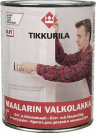 Алкидная краска TIKKURILA (Тикурила) МААЛАРИН ВАЛКОЛАККА A 2.7 л