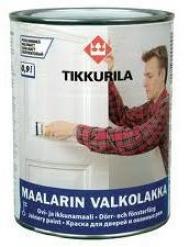 Алкидная краска TIKKURILA (Тикурила) МААЛАРИН ВАЛКОЛАККА 0.225 л