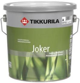 Моющаяся матовая краска TIKKURILA (Тикурила) ДЖОКЕР C 9 л , шелк