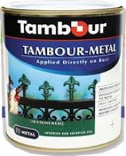 Тамбур-метал, молотковая  эмаль