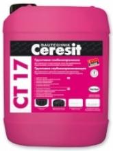 Грунтовка глубокопроникающая Ceresit CT 17 (5л)