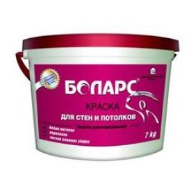БОЛАРС краска для стен и потолков 40кг