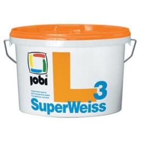 Jobi SUPERWEISS L3 (10л) Краска влагостойкая