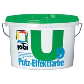Jobi PUTZ-EFFEKTFARBE U9 (10л) Краска с кварц. част.
