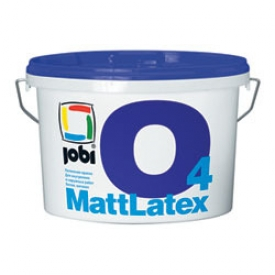Jobi MATTLATEX О4  (2,5л) Краска влагостойкая