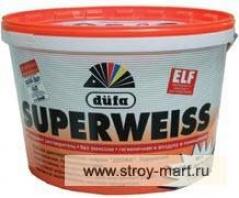 Краска супербелая DUFA (Дюфа) - Германия-Россия Superweiss