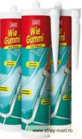 Санитарный силиконовый герметик Lugato (Люгато) Wie Gummi Bad-Si