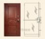 """Стальная дверь  MUL-T-LOCK  Модель """"Гладиатор-Дизайн"""""""
