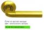 Дверная ручка Archie Sillur - 096 SG / PG
