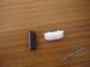 Ручка на балконную дверь (бел)
