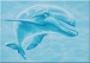 Лазурь / Lazur Керамическая плитка Лазурь Дельфин декор
